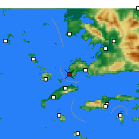 Nearby Forecast Locations - Turgutreis - ������