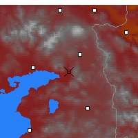 Nearby Forecast Locations - Muradiye - Χάρτης