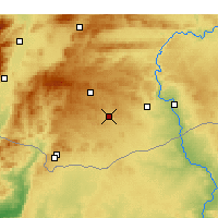 Nearby Forecast Locations - Oğuzeli - Χάρτης