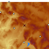 Nearby Forecast Locations - Banaz - Χάρτης