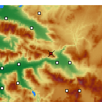 Nearby Forecast Locations - Buldan - Χάρτης