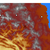 Nearby Forecast Locations - Şemdinli - Χάρτης