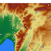 Nearby Forecast Locations - Bahçe - Χάρτης