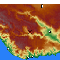Nearby Forecast Locations - Ermenek - Χάρτης