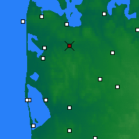 Nearby Forecast Locations - Holstebro - Χάρτης
