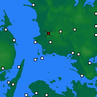 Nearby Forecast Locations - Slagelse - Χάρτης