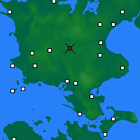 Nearby Forecast Locations - Ringsted - Χάρτης