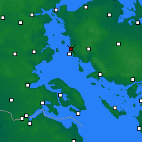 Nearby Forecast Locations - Assens - Χάρτης