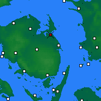 Nearby Forecast Locations - Kerteminde - Χάρτης