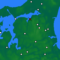 Nearby Forecast Locations - Nibe - Χάρτης