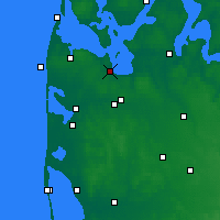 Nearby Forecast Locations - Struer - Χάρτης
