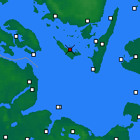 Nearby Forecast Locations - Ærøskøbing - Χάρτης