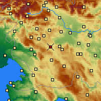 Nearby Forecast Locations - Logatec - Χάρτης