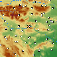 Nearby Forecast Locations - Zagorje ob Savi - Χάρτης