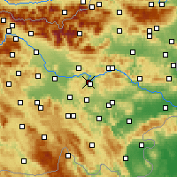 Nearby Forecast Locations - Litija - Χάρτης