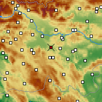 Nearby Forecast Locations - Grosuplje - Χάρτης