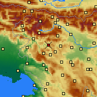 Nearby Forecast Locations - Cerkno - Χάρτης