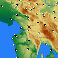 Nearby Forecast Locations - Divača - Χάρτης
