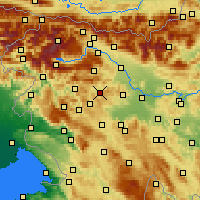 Nearby Forecast Locations - Gorenja Vas - Χάρτης