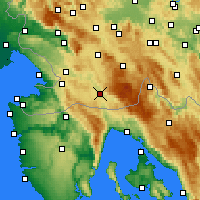 Nearby Forecast Locations - Ilirska Bistrica - Χάρτης