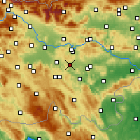 Nearby Forecast Locations - Ivančna Gorica - Χάρτης