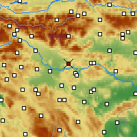 Nearby Forecast Locations - Moravče - Χάρτης