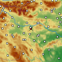 Nearby Forecast Locations - Šmartno pri Litiji - Χάρτης