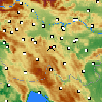 Nearby Forecast Locations - Velike Lašče - Χάρτης