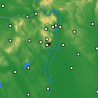 Nearby Forecast Locations - Budaörs - Χάρτης