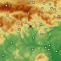 Nearby Forecast Locations - Jelšava - Χάρτης