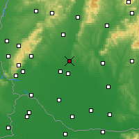 Nearby Forecast Locations - Sereď - Χάρτης