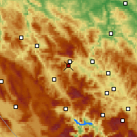 Nearby Forecast Locations - Novi Travnik - Χάρτης