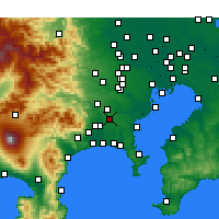 Nearby Forecast Locations - Yamato - Χάρτης