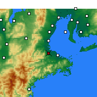 Nearby Forecast Locations - Matsusaka - Χάρτης