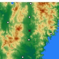 Nearby Forecast Locations - Ōshū - ������