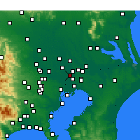 Nearby Forecast Locations - Misato - Χάρτης