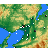 Nearby Forecast Locations - Minoh - Χάρτης