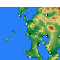 Nearby Forecast Locations - Satsumasendai - Χάρτης