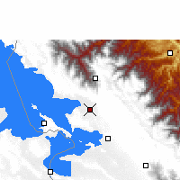 Nearby Forecast Locations - Achacachi - Χάρτης