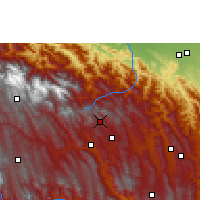 Nearby Forecast Locations - Comarapa - Χάρτης