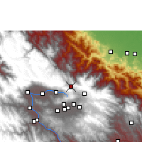 Nearby Forecast Locations - Colomi - Χάρτης