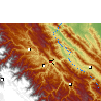 Nearby Forecast Locations - Guanay - Χάρτης