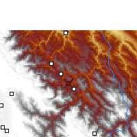Nearby Forecast Locations - Chulumani - Χάρτης