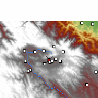 Nearby Forecast Locations - Tolata - Χάρτης