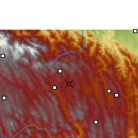Nearby Forecast Locations - San Isidro - Χάρτης