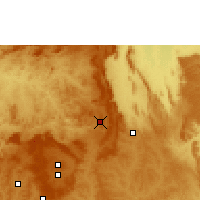 Nearby Forecast Locations - Planaltina - Χάρτης