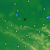 Nearby Forecast Locations - Rahden - Χάρτης