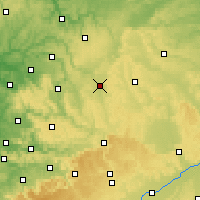 Nearby Forecast Locations - Crailsheim - Χάρτης