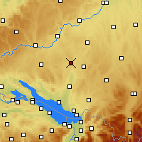 Nearby Forecast Locations - Aulendorf - Χάρτης