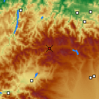 Nearby Forecast Locations - Villablino - Χάρτης